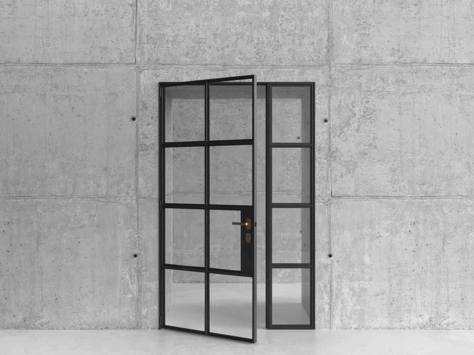 Steel-Framed Dividing Door