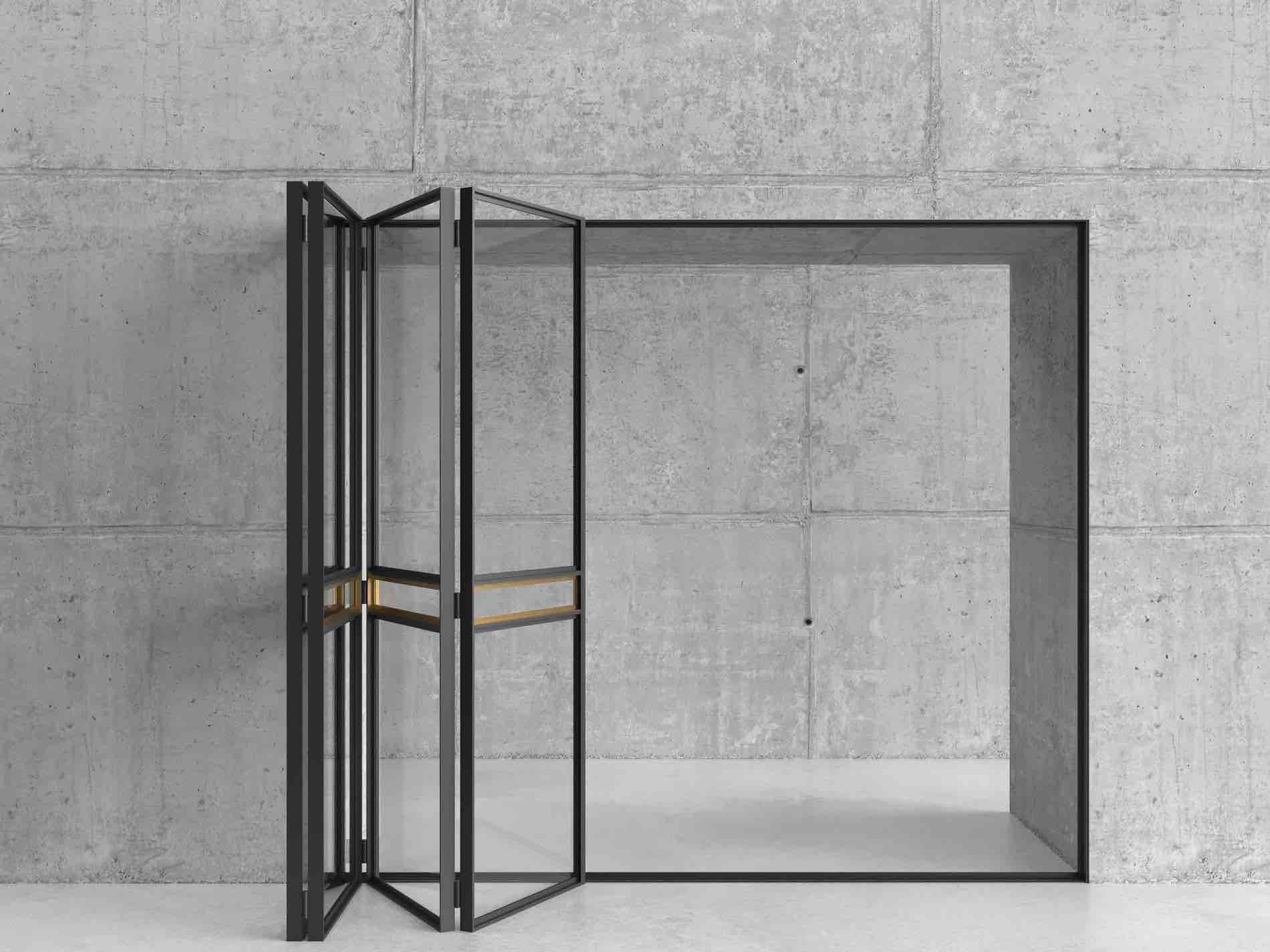 Steel Bi-Folding Door